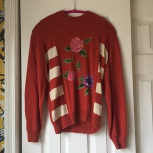 Pearls & Cashmere 100% cashmere vintage sweater